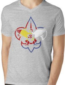 Bud Scouts Mens V-Neck T-Shirt