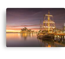 Dawn Tranquility over Sydney Harbour Canvas Print