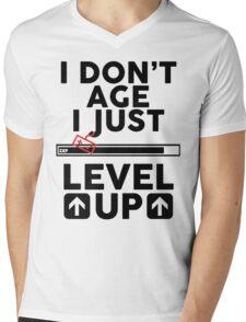 I don't age i just level up Mens V-Neck T-Shirt