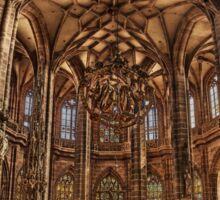 St. Lorenz Church St. Lorenz Kirche, Nuremberg Interior Sticker