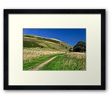 Broadlee-Bank Tor from The Pennine Way Framed Print