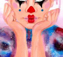 Galaxy Circus Clown Sticker