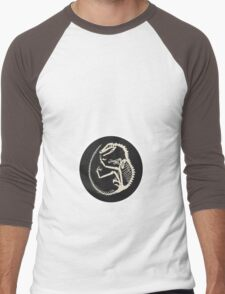 Velociraptor Men's Baseball ¾ T-Shirt