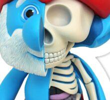Papa Smurf - Anatomy  Sticker