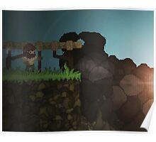 The Miner's life - PIXEL ART Poster