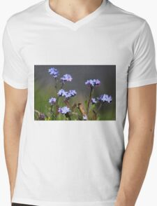Forget-me-not Mens V-Neck T-Shirt