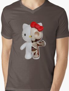 Hello Kitty - Anatomy Mens V-Neck T-Shirt