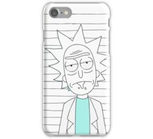Rick - The scientist iPhone Case/Skin