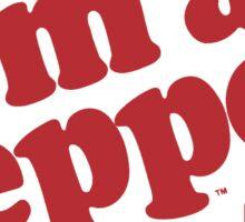 dr pepper im a pepper Sticker
