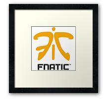 FNATIC EU LCS 2016 Framed Print