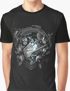 Cyber Duel Graphic T-Shirt