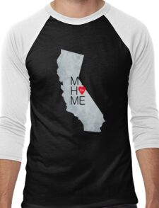 California home sticker Men's Baseball ¾ T-Shirt
