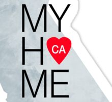 California home sticker Sticker