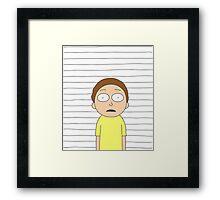Morty - The apprentice Framed Print