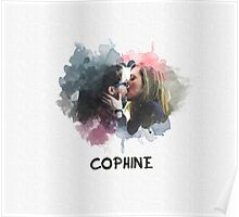 Cophine - Orphan Black - Kiss Poster