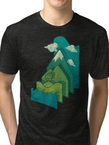 How to Build a Landscape Tri-blend T-Shirt