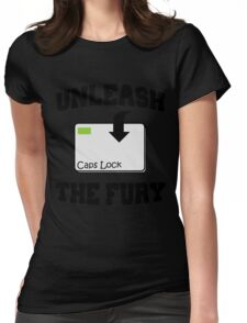 Unleash the fury Womens Fitted T-Shirt