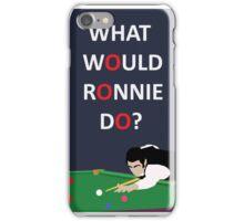 Rocket Ronnie O'sullivan iPhone Case/Skin