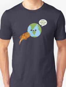 Kawaii Earth Unisex T-Shirt