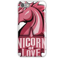 Unicors Of Love EU LCS 2016 iPhone Case/Skin