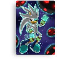 The Power Within +Silver the Hedgehog+ Canvas Print