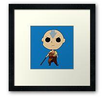 Aang - The Last Airbender Framed Print