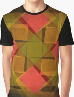 Vintage diamonds and squares pattern Graphic T-Shirt