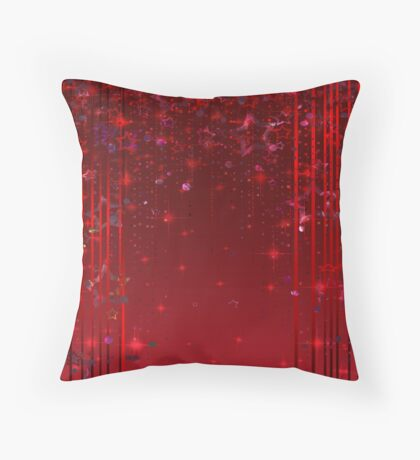 Shiny pattern of the digital paper . Throw Pillow