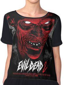 Evil Dead Poster Chiffon Top