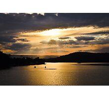 Sunset at Lake Conjola  Photographic Print