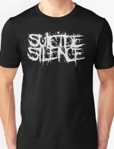 Suicide Silence White Logo T-Shirt