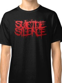 Suicide Silence Red Logo Classic T-Shirt