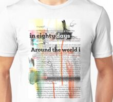 Around the world in eighty days - collage - chapter2 Unisex T-Shirt