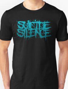 Suicide Silence Blue Logo T-Shirt