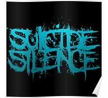 Suicide Silence Blue Logo Poster