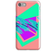 90's abstract vaporwave aesthetics iPhone Case/Skin