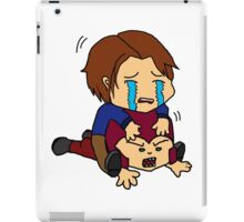 Cherik - Take off that helmet!  iPad Case/Skin