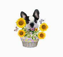 French Bulldog Sunshine and Daisies Unisex T-Shirt