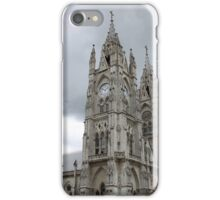 Towers on the Basilica in Quito iPhone Case/Skin