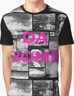 Da Bomb - Pink  Graphic T-Shirt