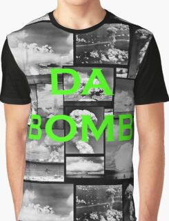 Da Bomb - Green  Graphic T-Shirt