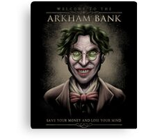 Arkham Bank Canvas Print