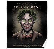 Arkham Bank Poster