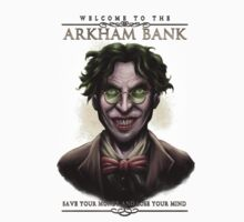 Arkham Bank Kids Tee
