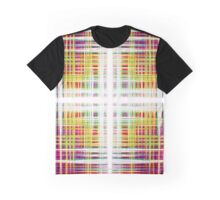 Colourful abstract soundwaves pattern Graphic T-Shirt