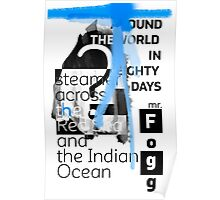 Steamer across the Red Sea and the Indian Ocean Poster