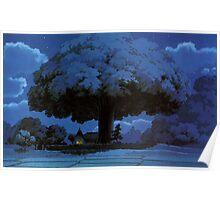My Neighbour Totoro Tree Poster