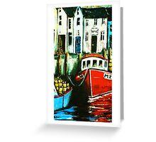 Smugglers Row Zoom 5 Greeting Card