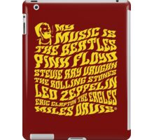 My Music iPad Case/Skin