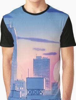 Sailor Moon Sunset Graphic T-Shirt